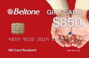 beltone gift card