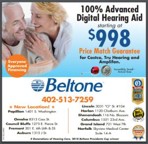 100% Advanced Digital Hearing Aid Starting at $998 Price Match Guarantee for Costco, Tru Hearing and Amplifon